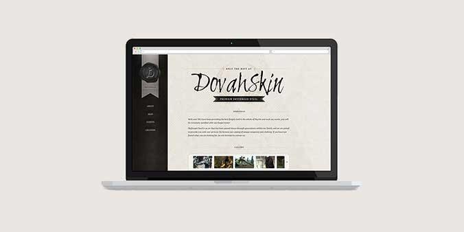 Dovahskin, a Skyrim Inspired Website