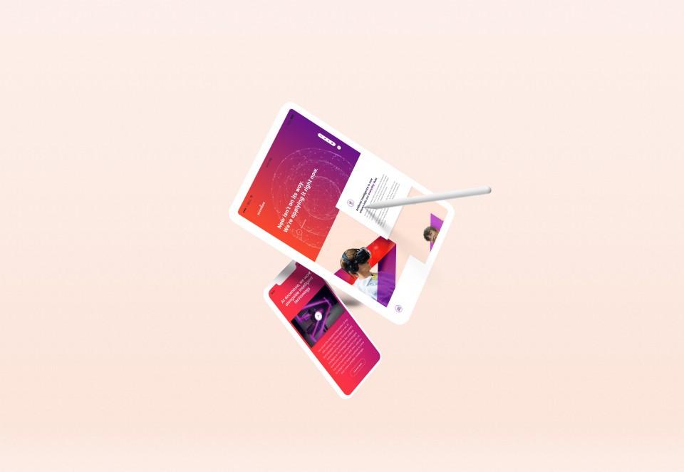Accenture Web Design by Denise Koh