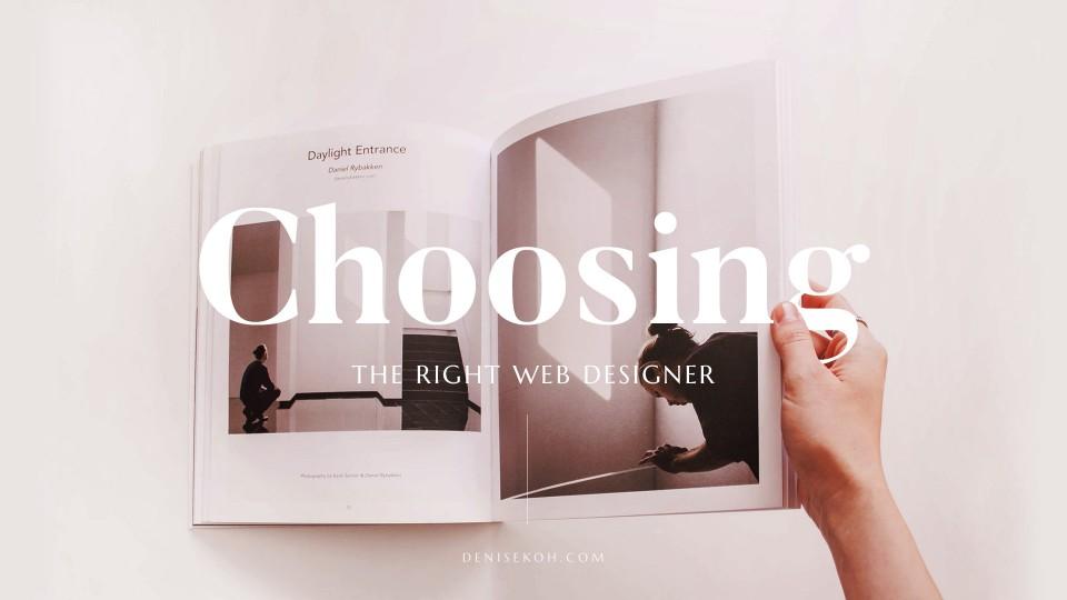 Choosing the Right Web Designer in Singapore